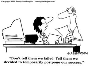 Failure Cartoon