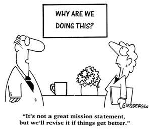 explain the importance of a mission statement with respect to quality management Why should a company have a mission statement the importance of a mission statement written by clayton reeves for gaebler ventures a mission statement is vital to the success of a company as a whole.